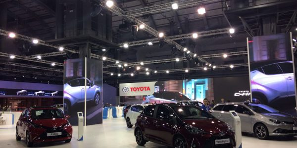 Nuevo Yaris y C-HR, las estrellas de Toyota en Automobile Barcelona