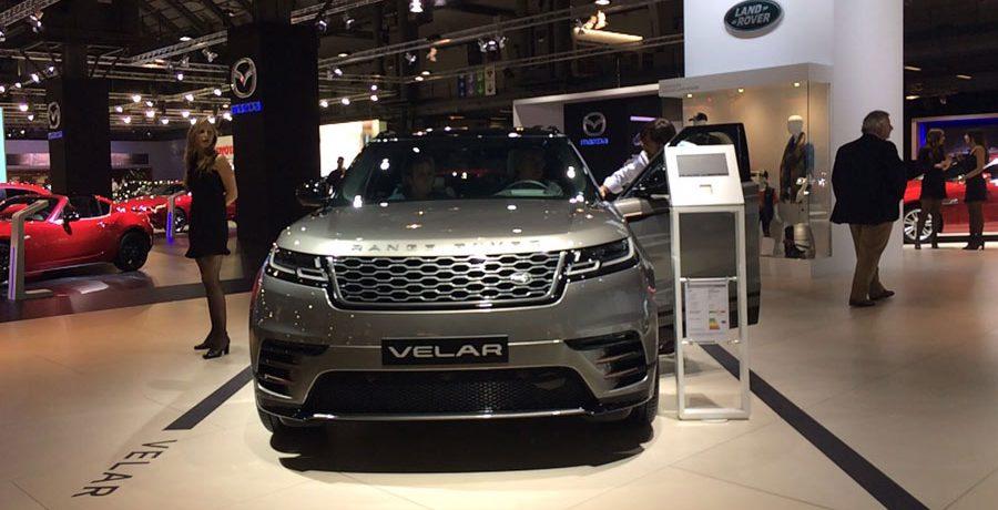 Land Rover estrena en España el nuevo Range Rover Velar
