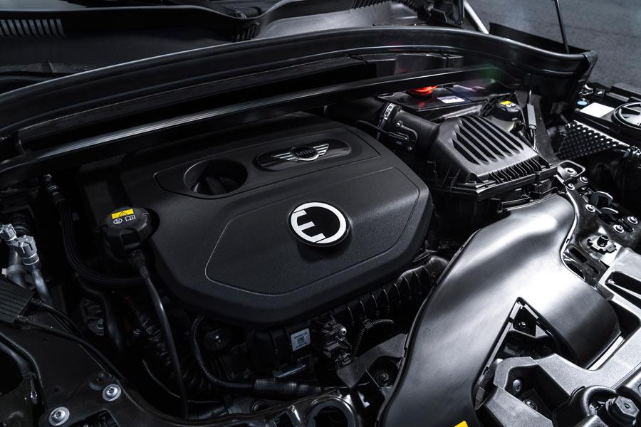 El Mini Countryman S E tiene una potencia total de 234 CV.