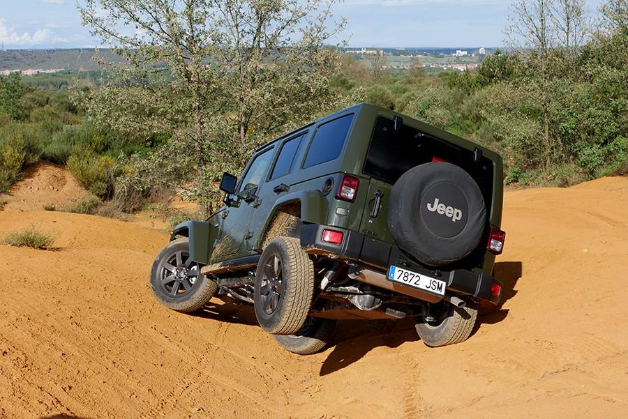Los consumos del Wrangler están penalizados por su peso, aerodinámica y neumáticos.