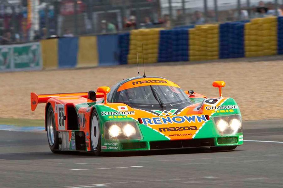 El Mazda 787B es el único coche japonés con una victoria en las 24 Horas de Le Mans.