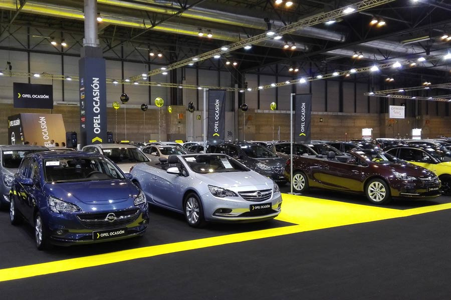 Opel llevará mas de 300 vehículo seminuevos al Salón V.O de Madrid.