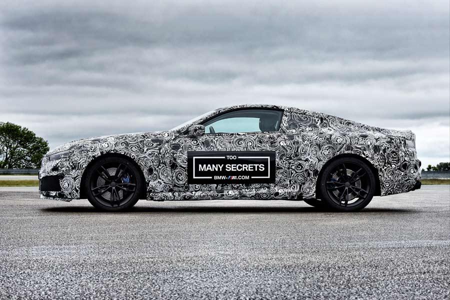 La silueta del M8 evoca más al estilo de un GT superior que al de un superdeportivo, pero las prestaciones -seguramente- lo coloquen como tal.