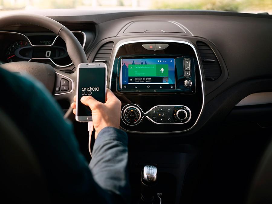 Android Auto está ahora disponible en el nuevo Captur.
