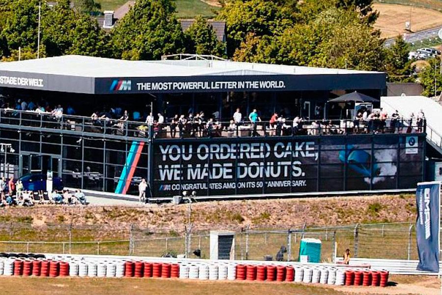BMW felicita a Mercedes-AMG por su 50ª aniversario