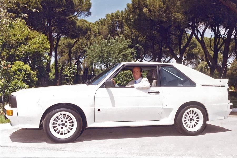 El Rey Emérito, Don Juan Carlos de Borbón, fue propietario de dos auténticas maravillas de Ingolstadt: un Audi Quattro y este Sport Quattro.