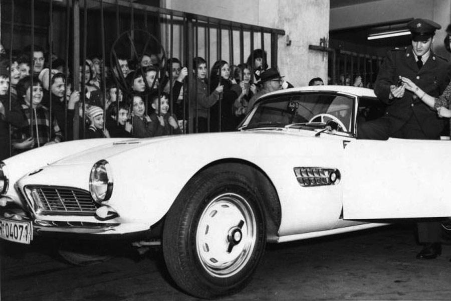 El Rey del Rock tuvo un BMW 507.