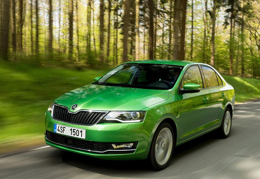 El Skoda Rapid ha tenido un gran éxito en el sector del taxi.