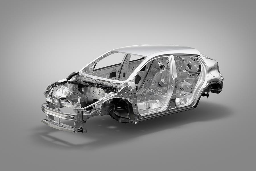 El C-HR está construido en base a la nueva arquitectura global de Toyota.