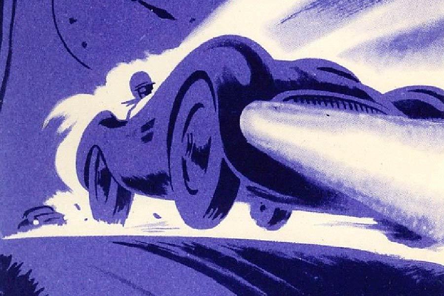 Le Mans 1955.