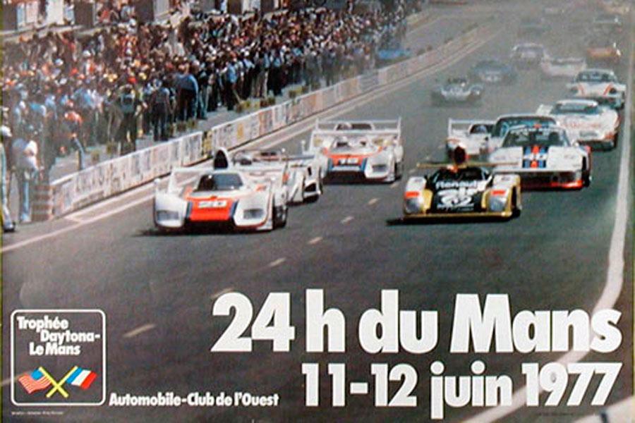 Le Mans 1977.
