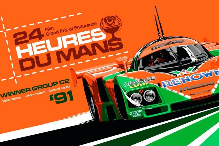 Le Mans 1991.