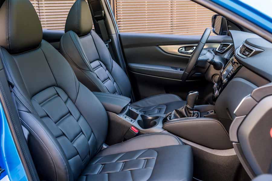 El nuevo Qashqai incorpora asientos monoforma que mejoran el confort.