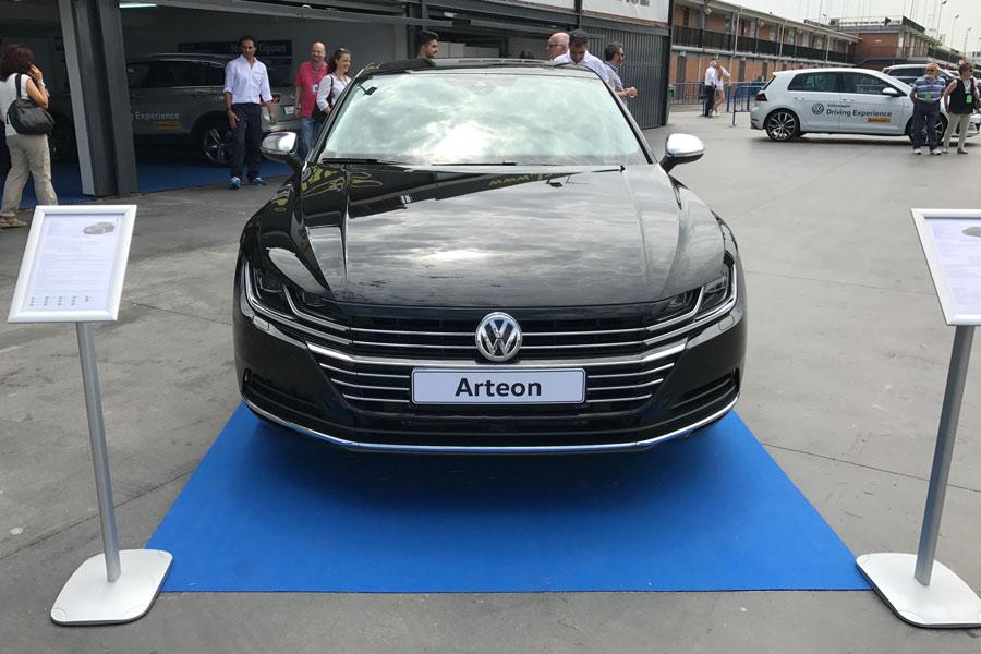 El nuevo Arteon fue invitado de lujo.