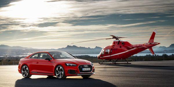Nuevo Audi RS5: prepárate para volar