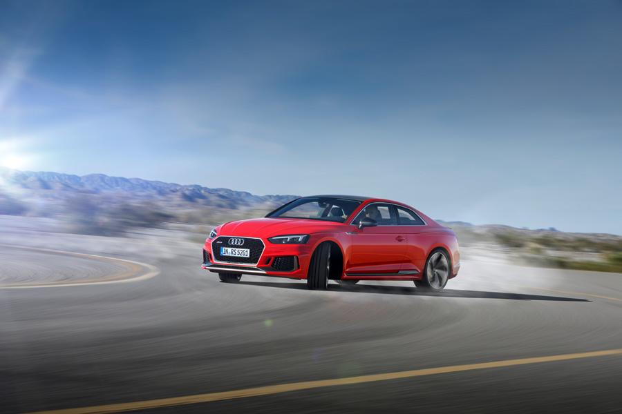 Dinámicas del nuevo Audi RS5 2017.