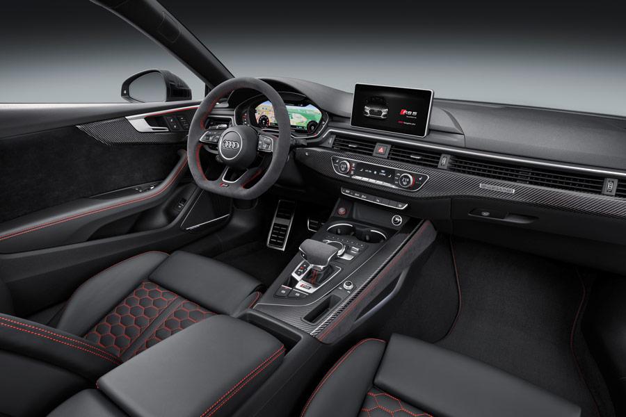 Interior del nuevo Audi RS5 2017.