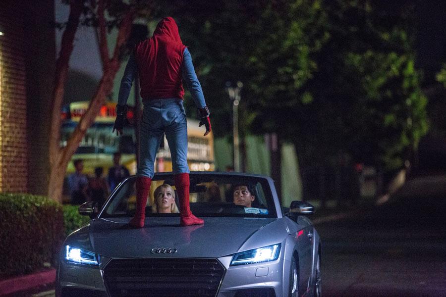 Spiderman será el primero en probar el nuevo Audi A8