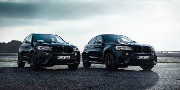 Black Fire Edition, los BMW X5 M y X6 M más sombríos