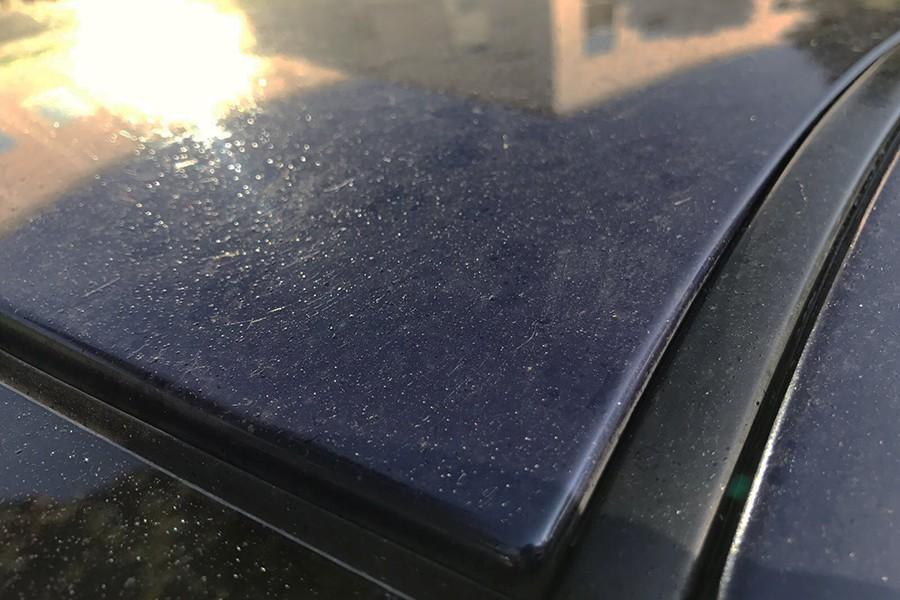 C mo quitar las gotas de resina de la pintura del coche - Pintura de resina ...
