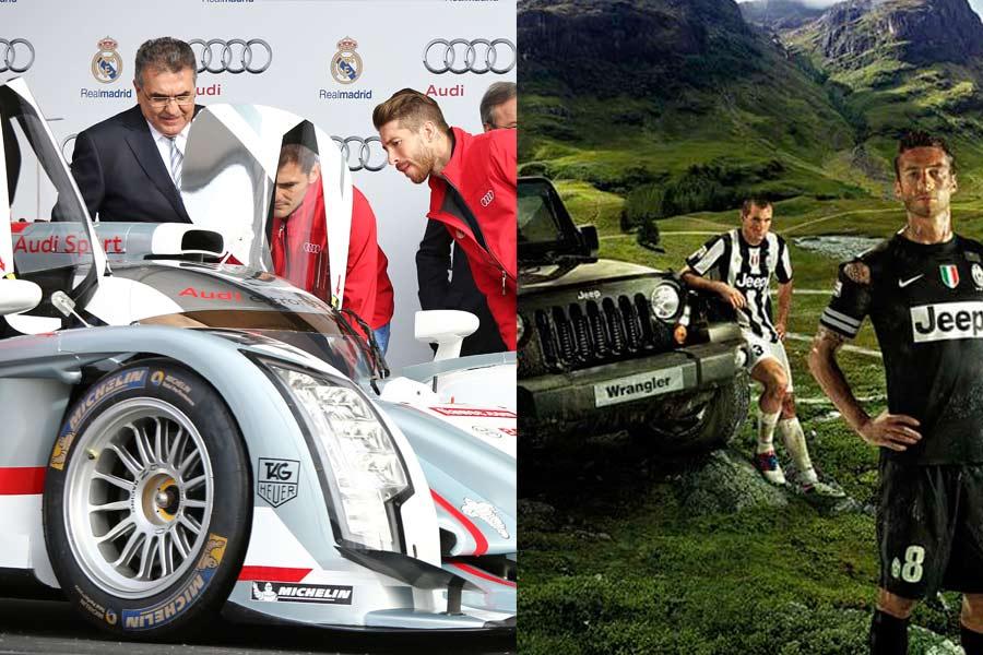 Juventus vs. Real Madrid, ¿qué plantilla tiene los mejores coches?