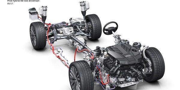 El nuevo Audi A8 y su red eléctrica a 48 voltios