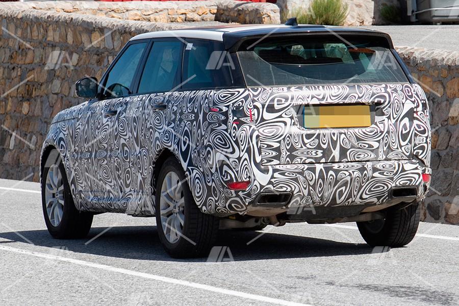 El Range Rover Sport tendrá una versión híbrida enchufable.