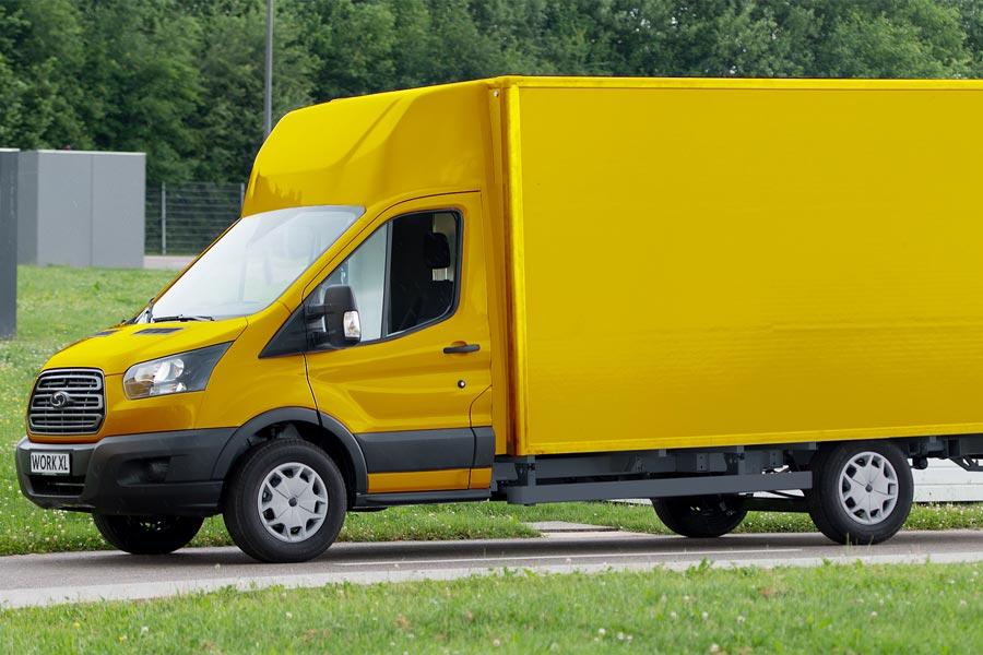 Deutsche Post contará con 2.500 furgonetas eléctricas de Ford en su flota