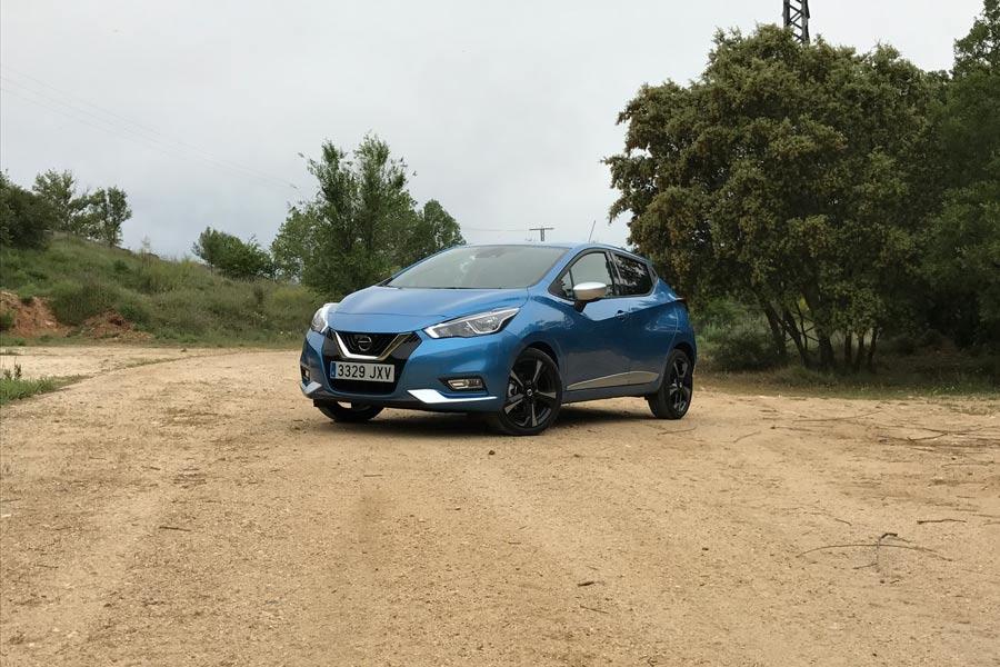 Prueba del nuevo Nissan Micra 90 CV gasolina.