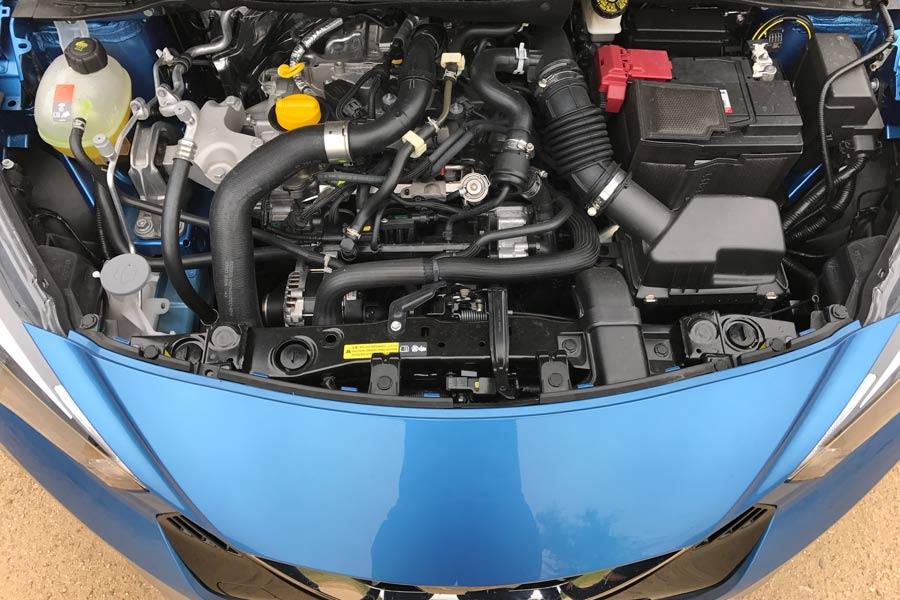 Este motor es el 0.9 gasolina de 90 CV sobrealimentado.