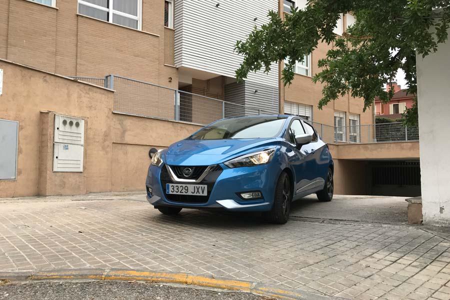 Prueba del Nissan Micra gasolina 90 CV.