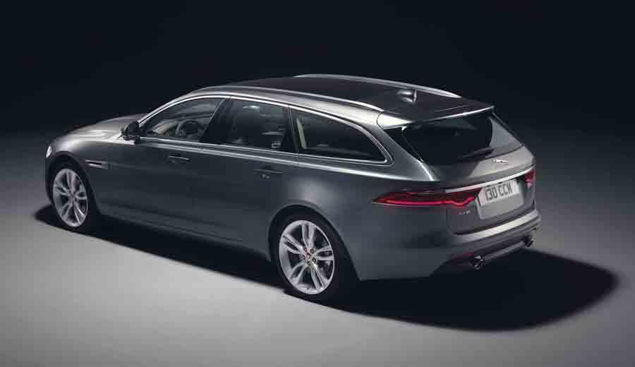 Jaguar XF Sportbrake incrementa su habitabilidad y espacio de carga sin renunciar a las señas de identidad de la marca.