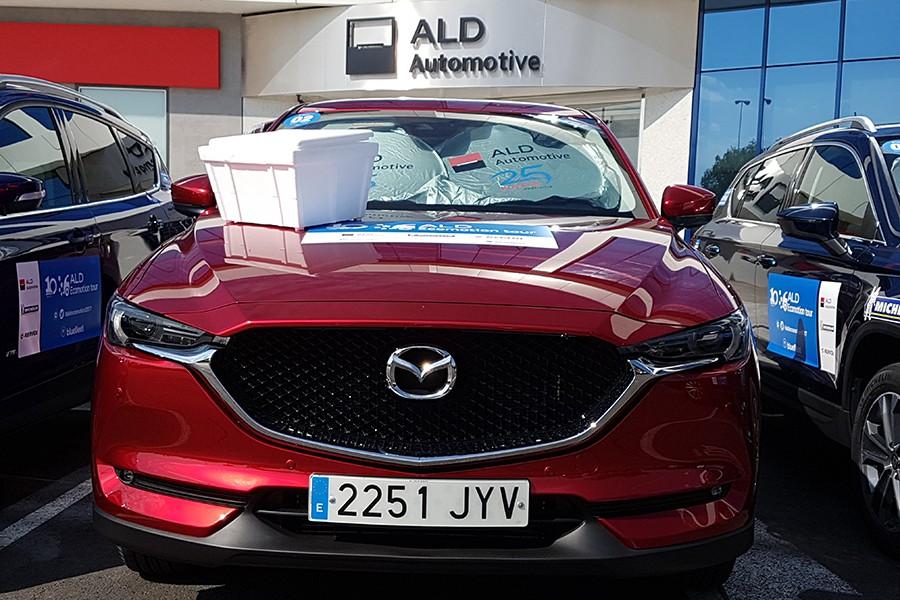 Mazda y Autocasión en el ALD Ecomotion Tour 2017