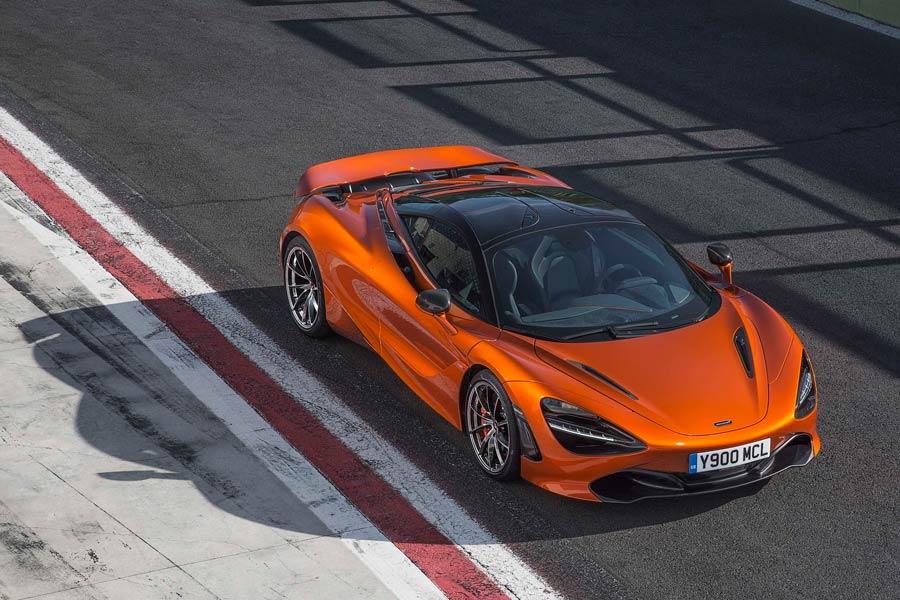 Nuevo McLaren 720S: de 0 a 100 km/h en 2,9 segundos