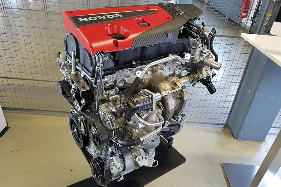 El motor del Type R es una joya de ingeniería.