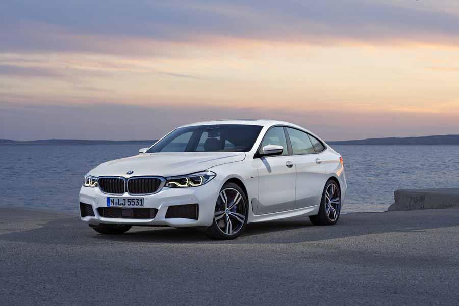 Proporciones clásica en el nuevo BMW Serie 6 Gran Turismo.