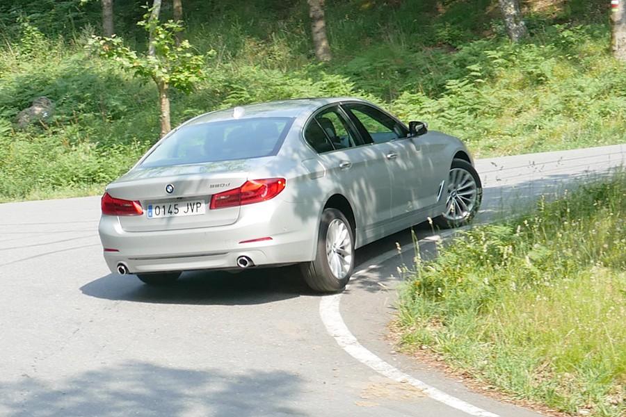 Este BMW destaca especialmente por su confort para viajar.