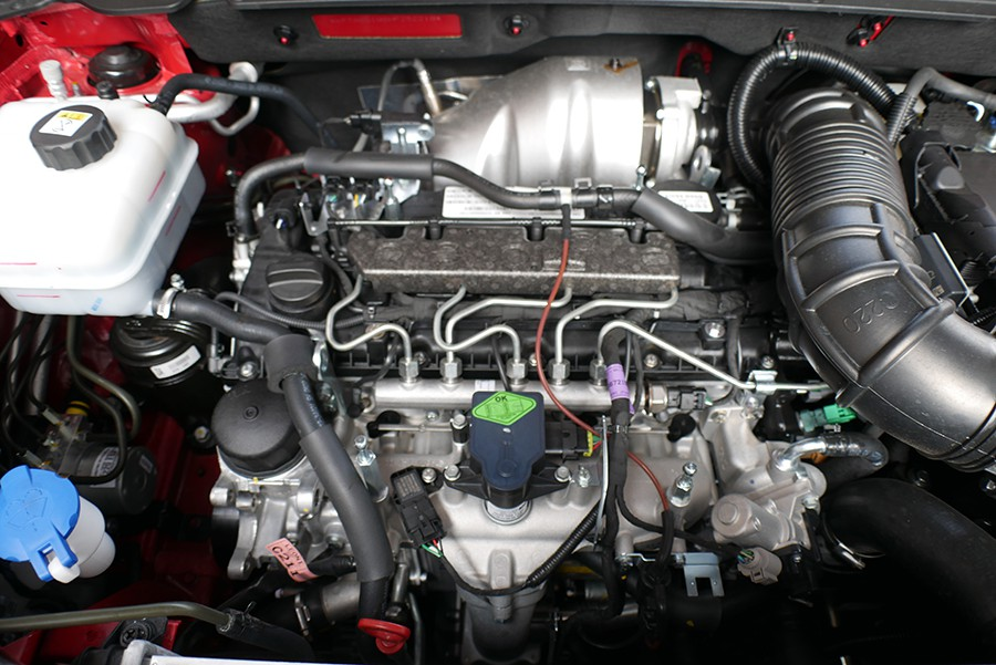 El motor es potente, pero los consumos son elevados con el cambio automático.