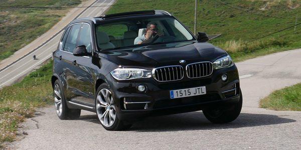 Prueba del BMW X5 3.0d X-Drive 2017