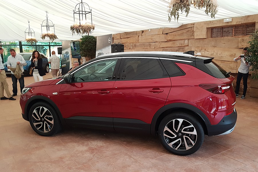 Nuevo Opel Grandland X desde 25.100 euros