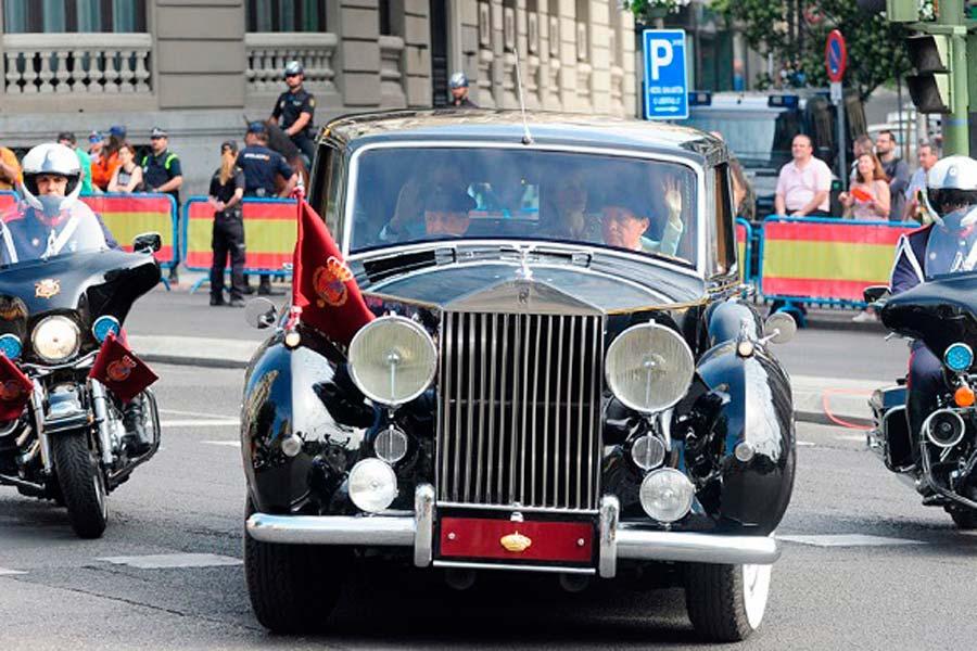 El Rolls-Royce Phantom IV es un símbolo ya de la Corona española.