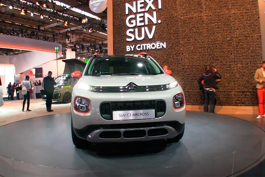 Citroën C3 Aircross, el nuevo SUV de la marca francesa