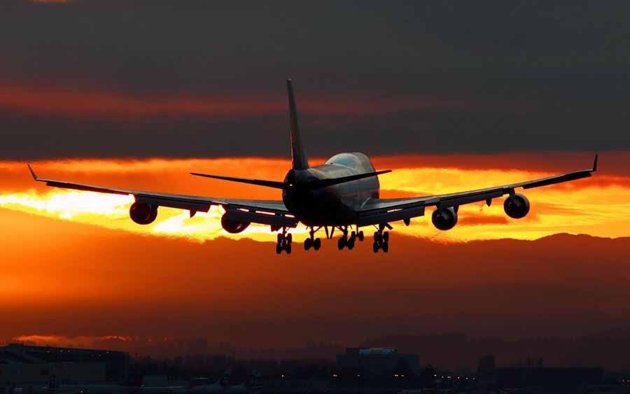 El avión es el método de transporte más contaminante de todos.