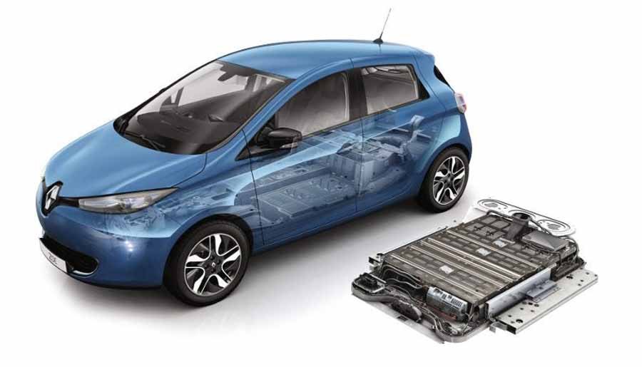 Renault apuesta por la reutilización de sus baterías
