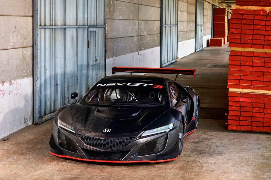 Honda ya vende el NSX GT3 de competición