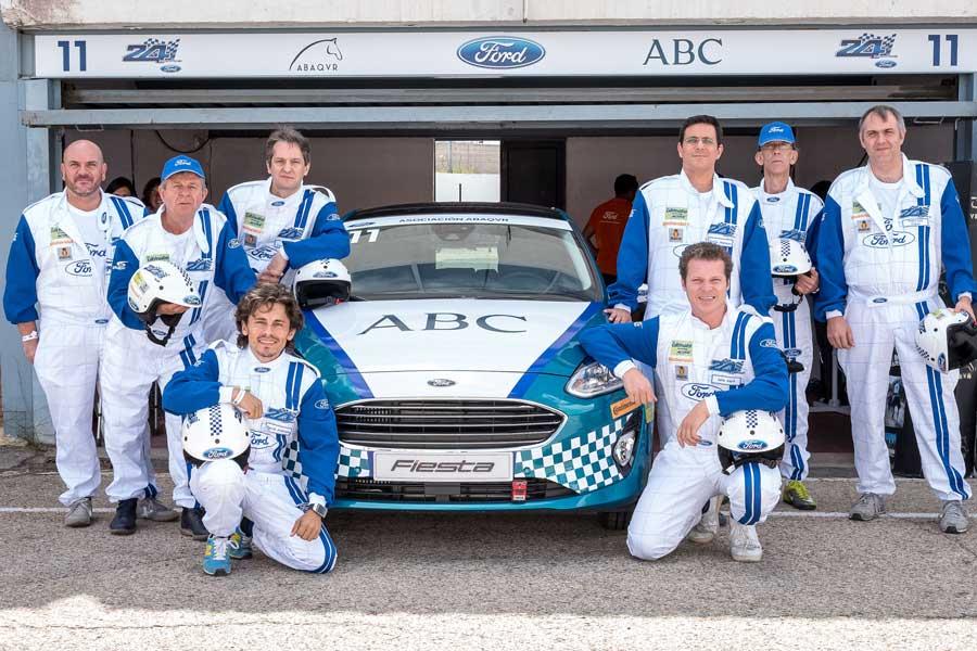 El equipo de pilotos del ABC ABAQUR