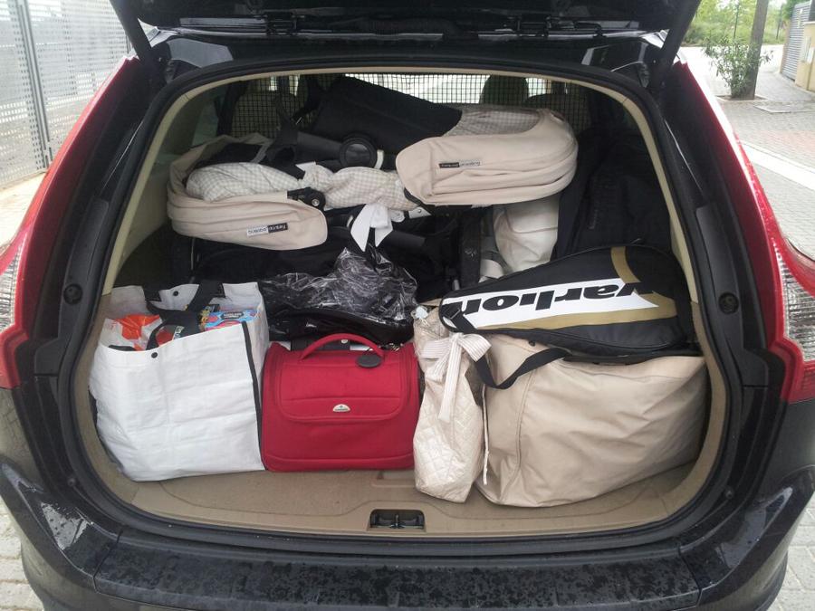 Cómo deberías cargar tu maletero