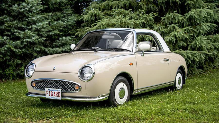 Gracioso y singular, el Figaro es un automóvil único.