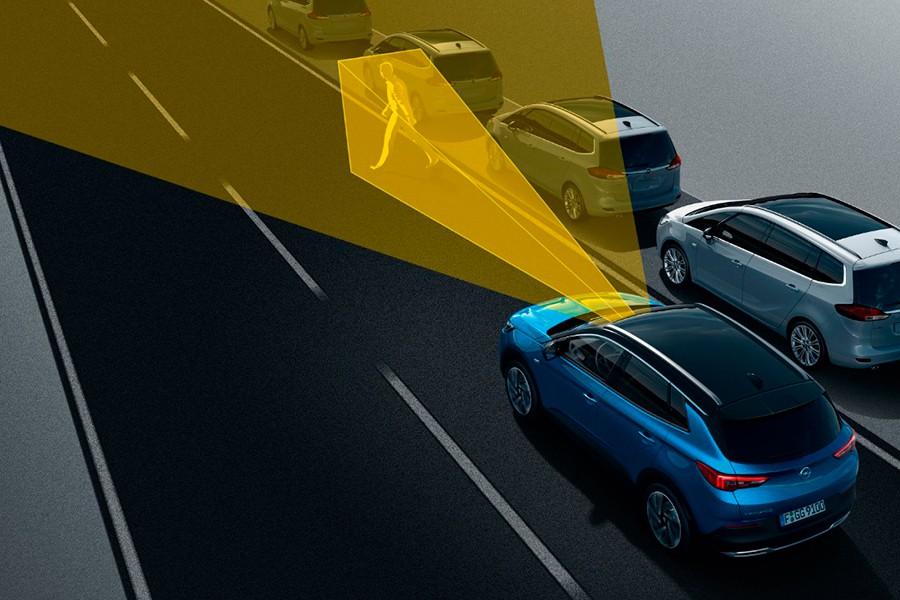 Así son los sistemas de seguridad del Opel Grandland X