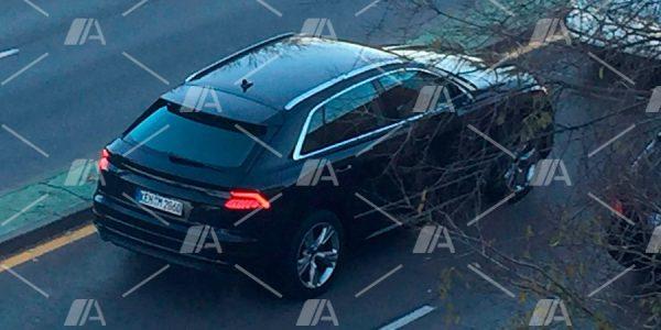 Cazado el nuevo Audi Q8 de camino a Detroit